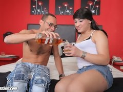Valentina Perez takes in that hardcore Ramon dick