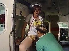 Trans nurse get sucked in ambulance