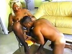 Horny macho sucks fat shemales cock