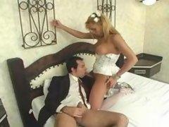 Duda leggy shemale bride